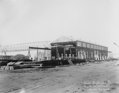 Buildings at Globe Shipbuilding Company