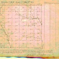 [Public Land Survey System map: Wisconsin Township 10 North, Range 04 East]