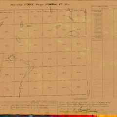 [Public Land Survey System map: Wisconsin Township 32 North, Range 15 West]