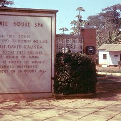 Chilenje House 394, Residence of President Kaunda Prior to His Becoming President of Zambia
