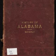 History of Alabama : for use in schools and for general reading