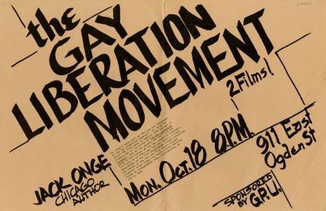 Jack Onge poster
