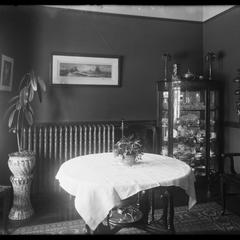 Dr. Elton - dining room - February