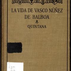 La vida de Vasco Núñez de Balboa