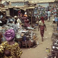 Dugbe market