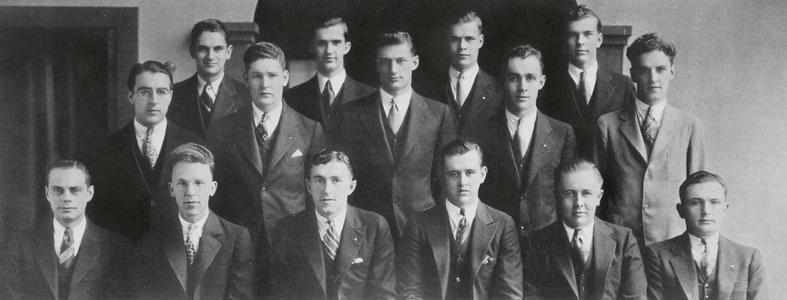 1936 Wisconsin Mining School senior class