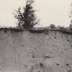 Gravel pit in esker