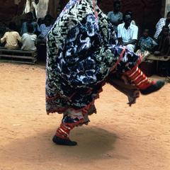 Onidan of Senior Society of Egungun, Egbado-Yoruba