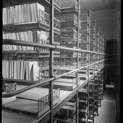 Gilbert M. Simmons Library, stock room