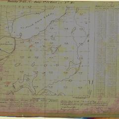 [Public Land Survey System map: Wisconsin Township 41 North, Range 11 East]