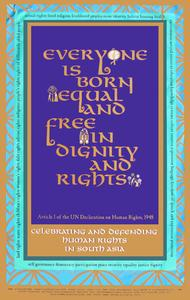 Everyone is born equal and free--In dignity and rights