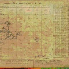 [Public Land Survey System map: Wisconsin Township 45 North, Range 09 West]