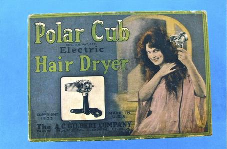 Polar Cub electric hair dryer box