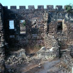 Ruins of Fort on St. James Island Where Slaves Were Held