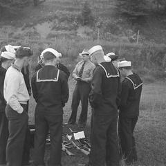 Sea Scouts' firearms training
