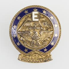 Navy E pin