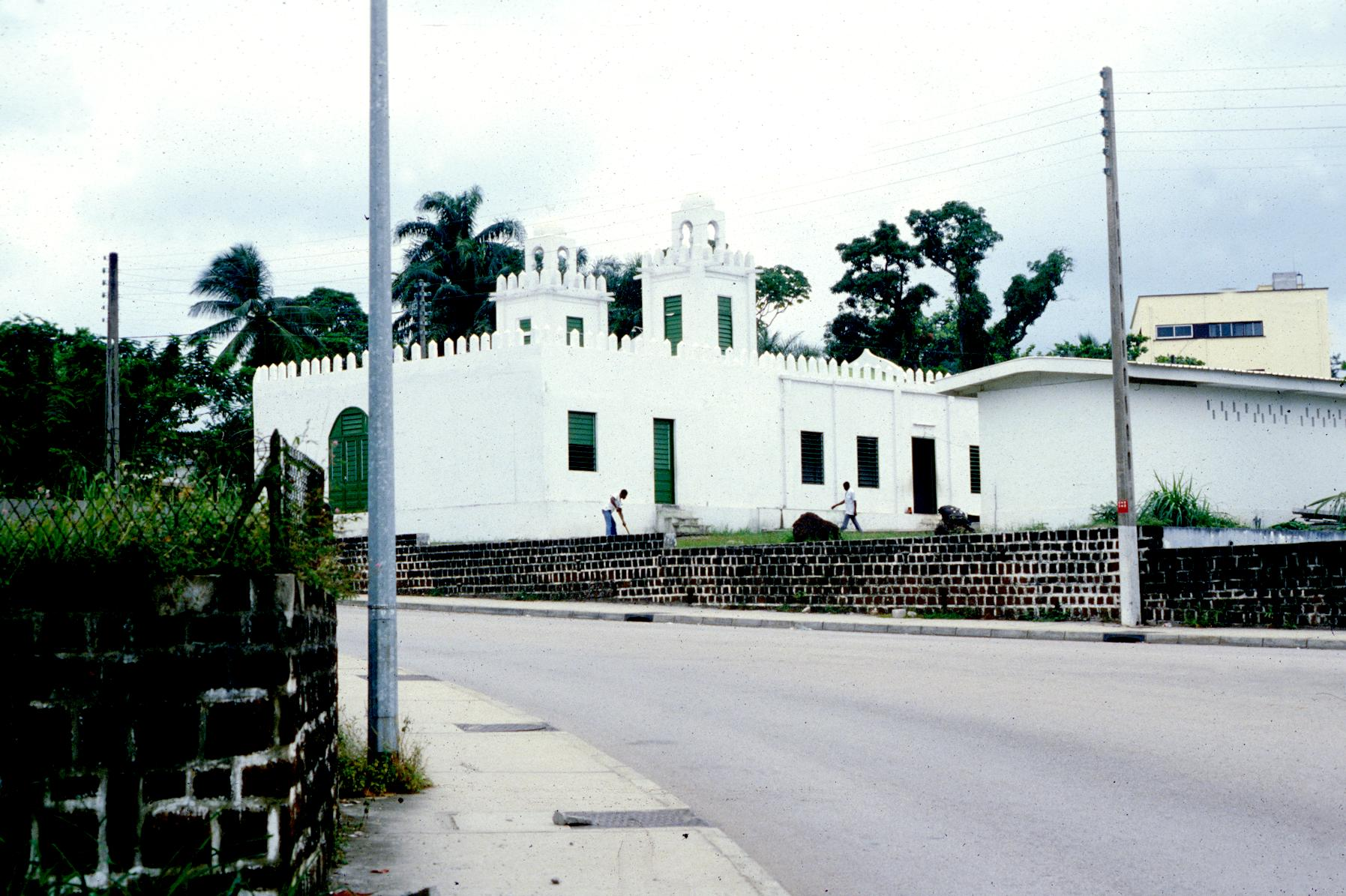 A New Mosque Constructed with Funds from Saudi Arabia