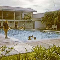 Continental compound swimming pool