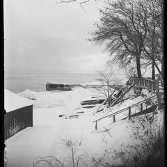 Bather's Bay in winter