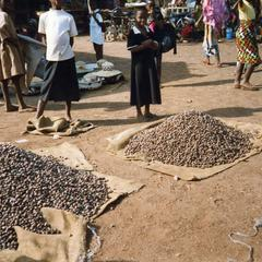 Nuts at Tamale market