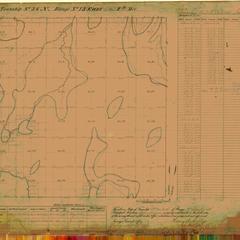 [Public Land Survey System map: Wisconsin Township 36 North, Range 13 East]