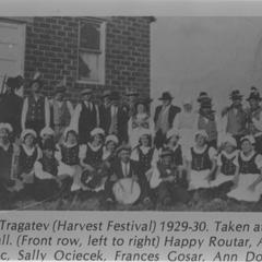 Harvest Festival (Vinsko Tragatev) musicians, 1929-1930