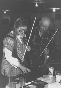 Jeanne Santa Doty and Leonard Finseth