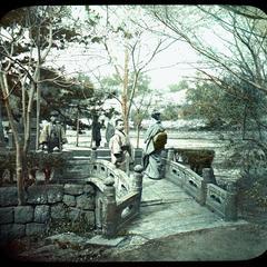 Benten Bridge, Shinobazu, Tokio [sic]