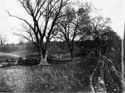 Hunt Road, southwest of Burlington