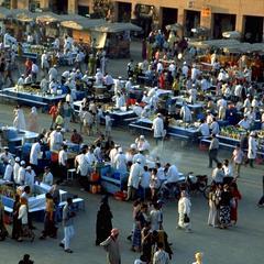 Djemaa el-Fna Square in Marrakech