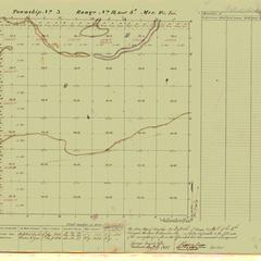 [Public Land Survey System map: Wisconsin Township 03 North, Range 14 East]