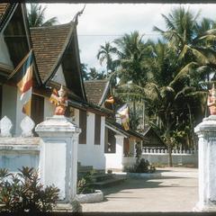 Details of entrance gate