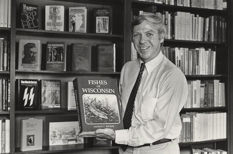 Allen Fitchen with book