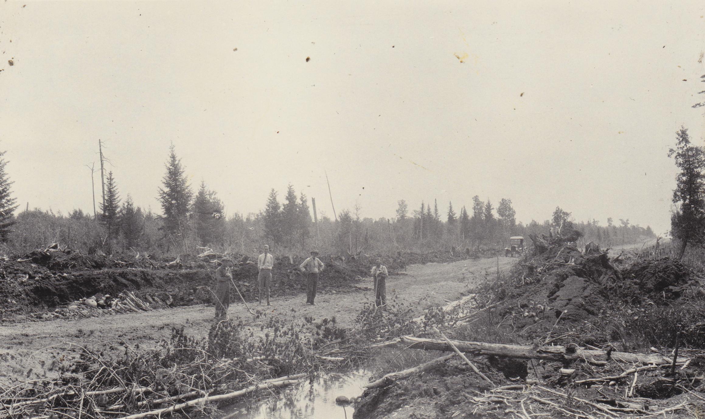Highway 16 sinkhole