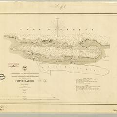 Preliminary chart of Copper Harbor