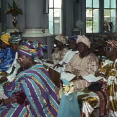 Women at Apara wedding ceremony