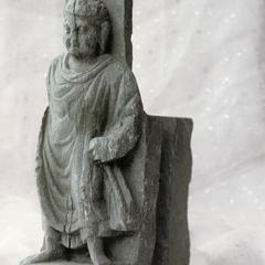 NG328, Bracket with a Standing Buddha