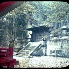 The gate of Iyeyasu Mausoleum, Nikko