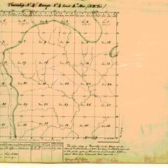 [Public Land Survey System map: Wisconsin Township 04 North, Range 04 East]