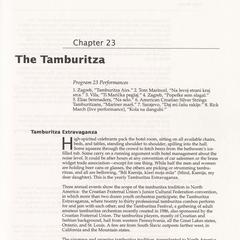 The tamburitza
