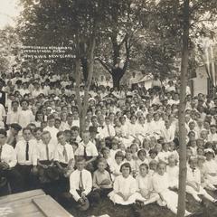 Swiss Church Sunday School picnic, 1915