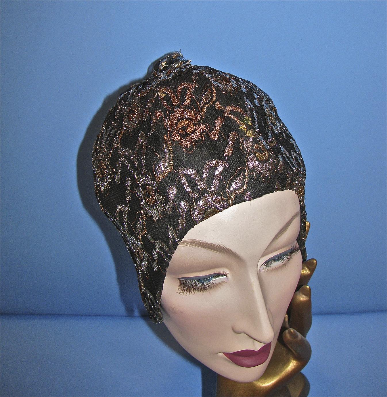 Black rubber cap