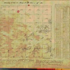 [Public Land Survey System map: Wisconsin Township 45 North, Range 10 West]
