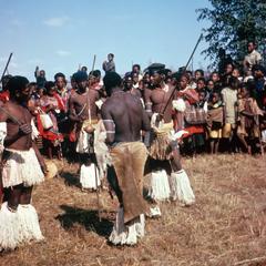 Dancers at Nhlangano