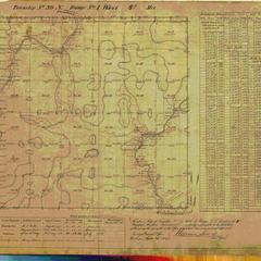 [Public Land Survey System map: Wisconsin Township 39 North, Range 01 West]