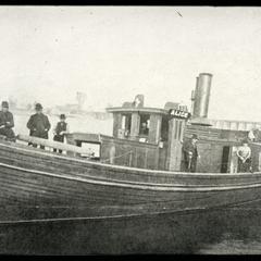 "Steam fishing tug ""Alice"""