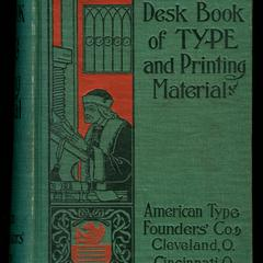 Desk book : specimens of type, borders & ornaments, brass rules & electrotypes