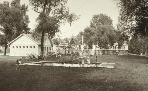 Scene in Scott Park
