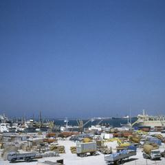 Picture of Tripoli Harbor Taken from East