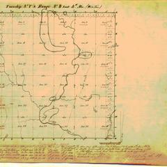 [Public Land Survey System map: Wisconsin Township 05 North, Range 08 East]